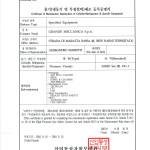 Certificate of Manufacturer Registration_KGS_Pagina_1